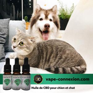 Huile de CBD pour animaux